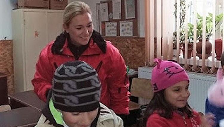Audrey Gronerad; Rumänien: Päckchen für Drobeta