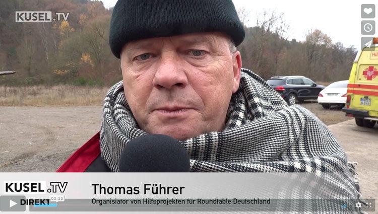 Kusel- TV: Die Verladung der Krankenhausbetten in Kusel