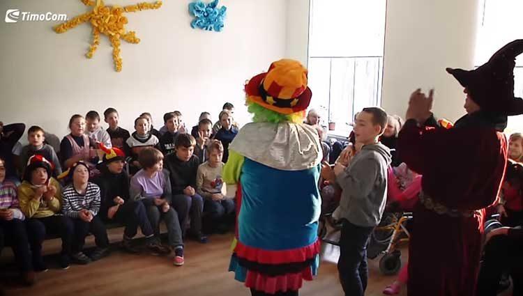Jochen Dieckmann; Moldawien und die Kinder: